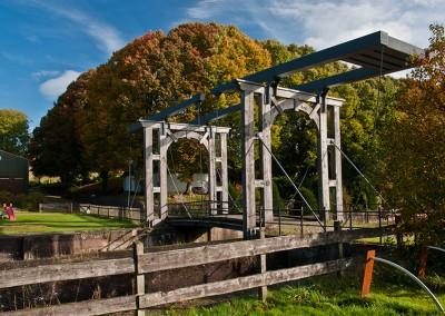 Holländer Klappbrücke am alten Eiderkanal bei Klein Königsförde.