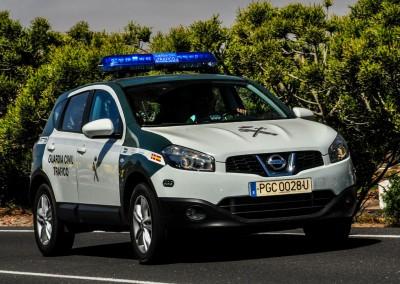 Guardia Civil - Nissan X-Trail