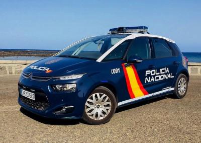 Policia Nacional - Citroen C4