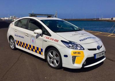 Policia Portuaria - Toyota Prius