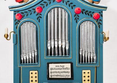 Orgel mit Spieluhr (stille Nacht)